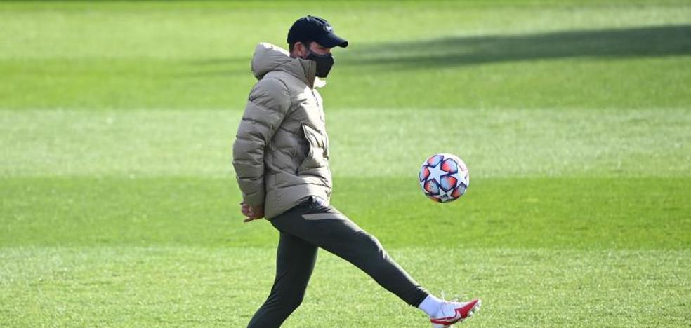 Simeone: «Con estas circunstancias deberiamos tener una plantilla de 35 jugadores»