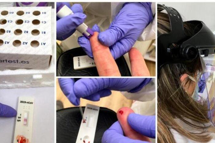 Los test rapidos de anticuerpos, camino de las farmacias bajo prescripcion