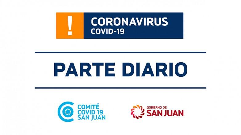 Parte de Salud Pública sobre coronavirus Nº324 - 21/01