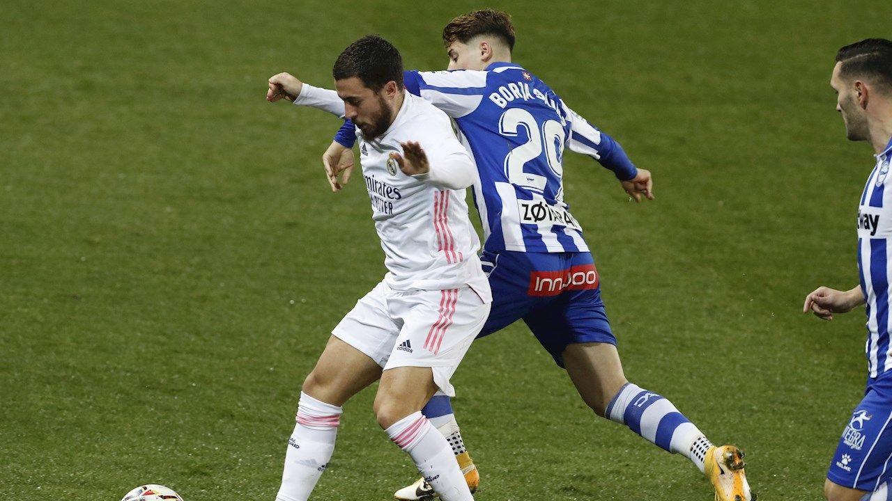 La conexión Hazard - Benzema con la que sueña el madridismo: gran gol en el 0-2 ante el Alavés