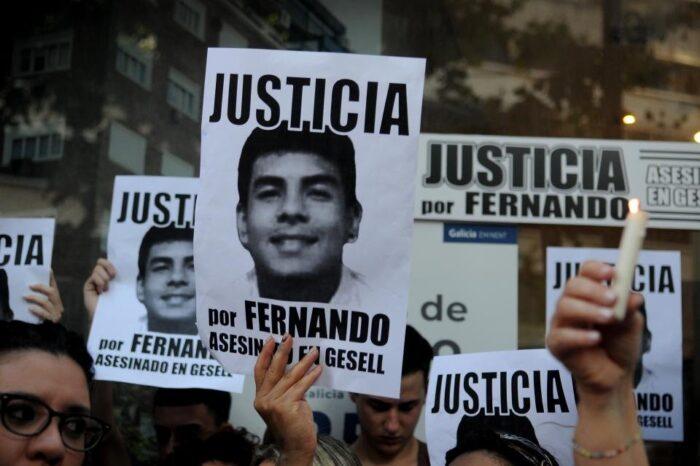 Los padres y amigos de Fernando Báez Sosa realizan colecta solidaria en su homenaje