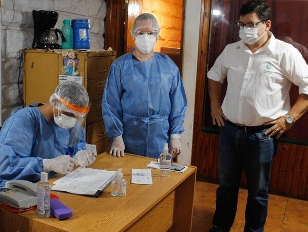 "Realizaron testeos masivos en el Mercado Modelo ""La Placita"" de Posadas"