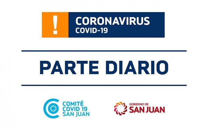 Parte de Salud Pública sobre coronavirus Nº329 – 26/01