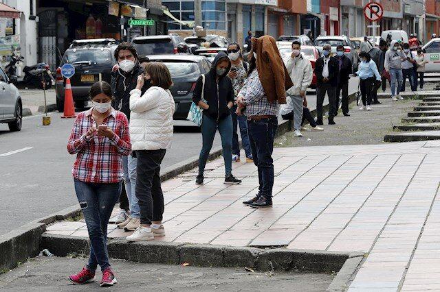 Colombia supera los dos millones de contagios de covid-19