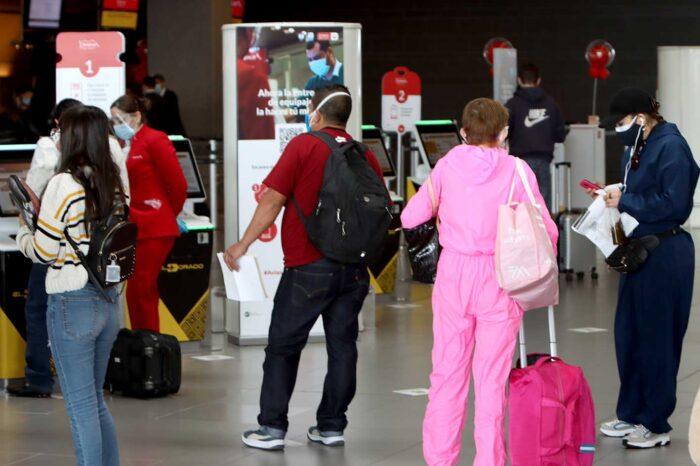 De nuevo viajeros llegan a Colombia con prueba positiva