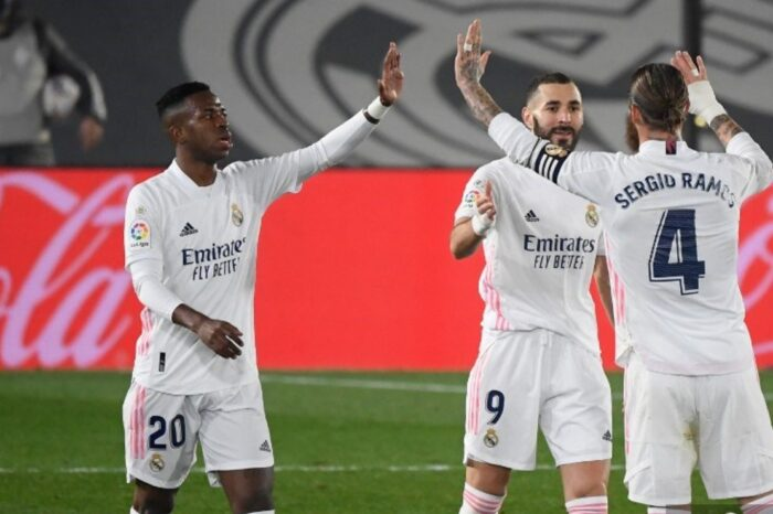 Real Madrid derrotó con goleada al Alavés