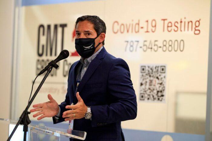 Inauguran laboratorio de pruebas de COVID-19 en el Aeropuerto Luis Muñoz Marín