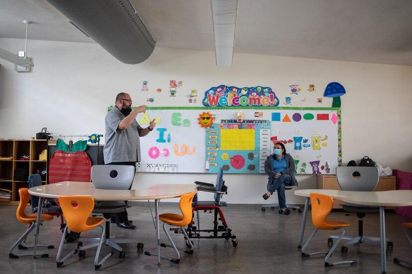"""Marcados contrastes en el estado de dos escuelas catalogadas """"aptas"""" para abrir"""