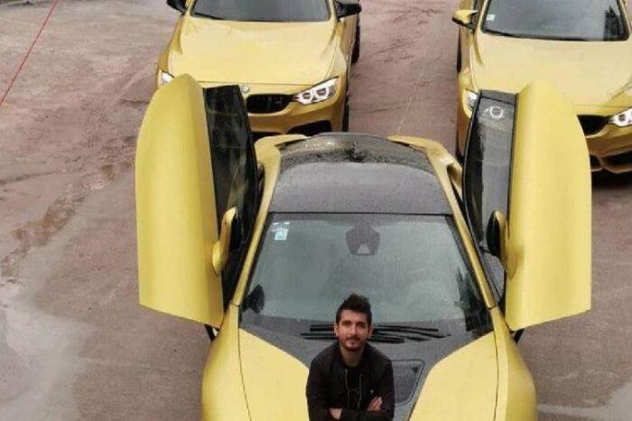 Vendió sus autos de lujo para comprar tanques de oxígeno a los enfermos de coronavirus