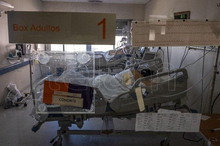 Por primera vez, desde diciembre, baja la ocupación de camas de terapia intensiva a nivel nacional