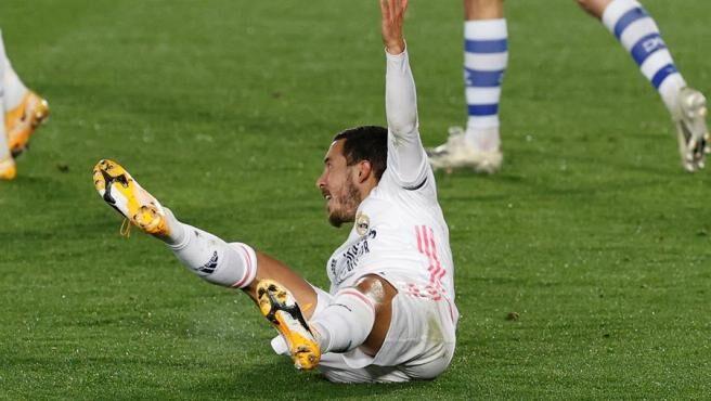 """La enésima lesión de Hazard provoca un aluvión de memes: """"Es el nuevo Kaká"""""""