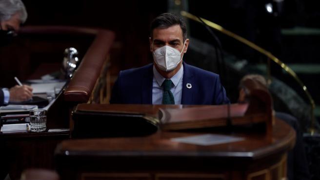 """Abascal acusa a Sánchez de traer """"muerte, ruina, división y violencia"""" y amaga con otra moción de censura."""