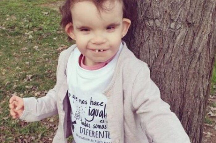 Claudia, la primera niña con Menke-Hennekam en España, necesita fondos para la investigación de su enfermedad