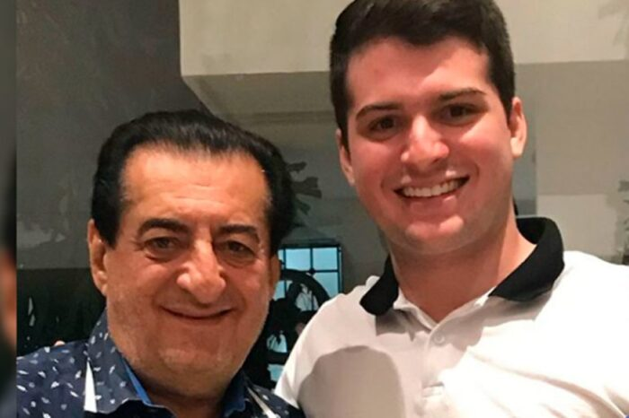 Dedicatoria de hijo de Jorge Oñate tras muerte de su padre