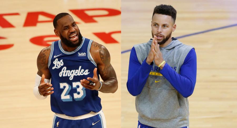 LeBron James vs. Stephen Curry, los reyes de la NBA; millonarios salarios para el 2021
