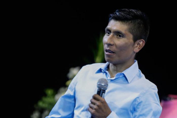 """Nairo Quintana sobre la salud de su padre: """"gracias por las oraciones, está estable"""""""