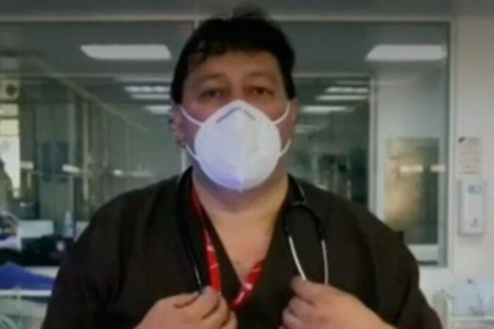 Historia del médico que superó el COVID, pero vio morir a un amigo en la UCI