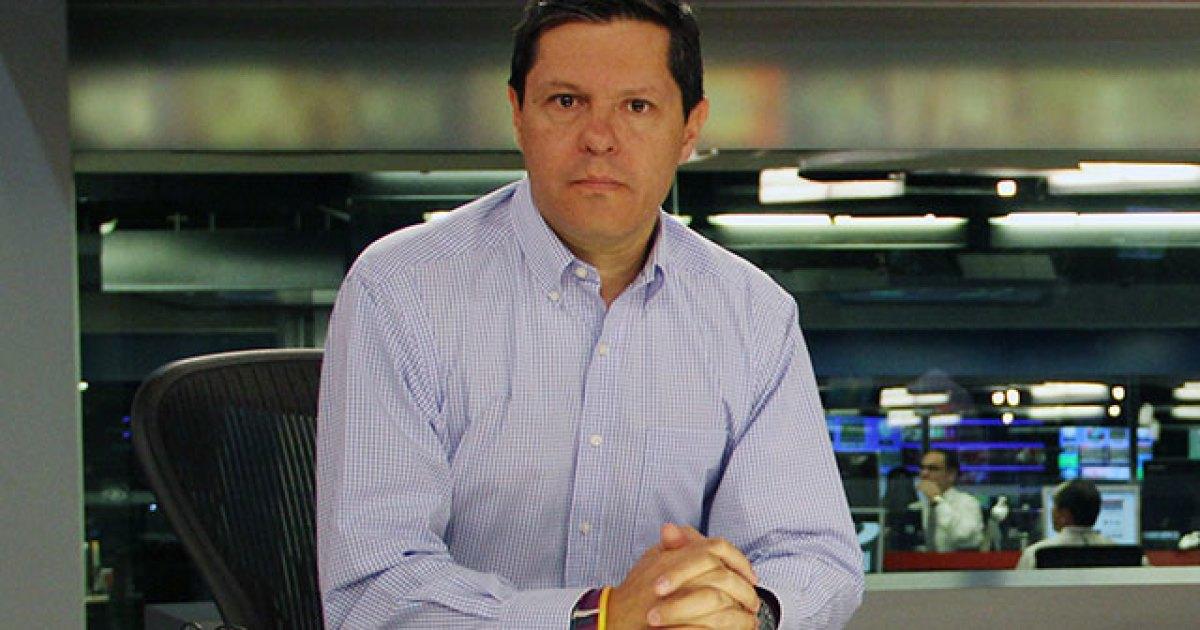 Juan Roberto Vargas, director de Noticias Caracol, tiene COVID-19