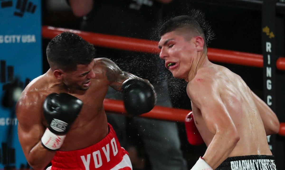 Purín Caraballo se impuso ante el mexicano Leonardo Báez