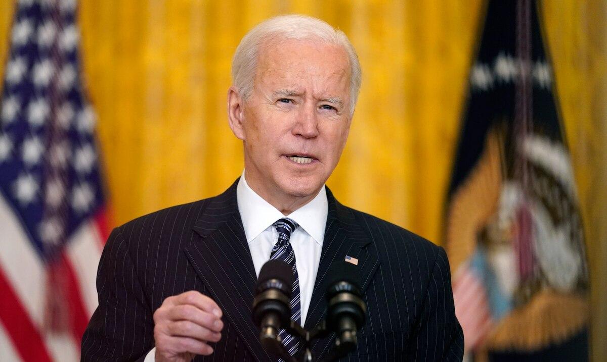 Joe Biden asegura que es posible llegar a las 200 millones de dosis de la vacuna a finales de abril