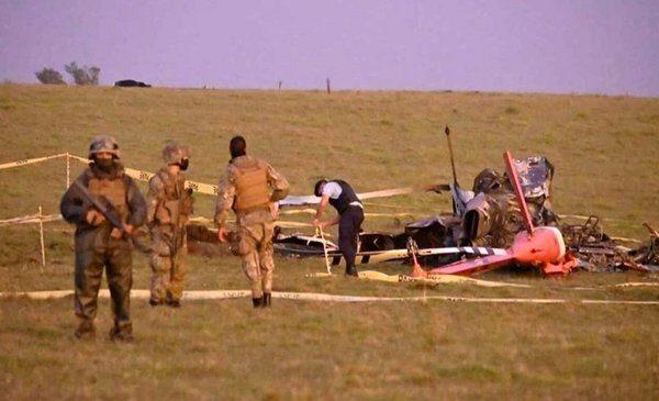 Se estrelló un helicóptero que transportaba vacunas: se destruyeron todas las dosis