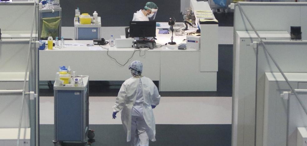 El Principado cerrará el viernes el hospital de la feria de Gijón