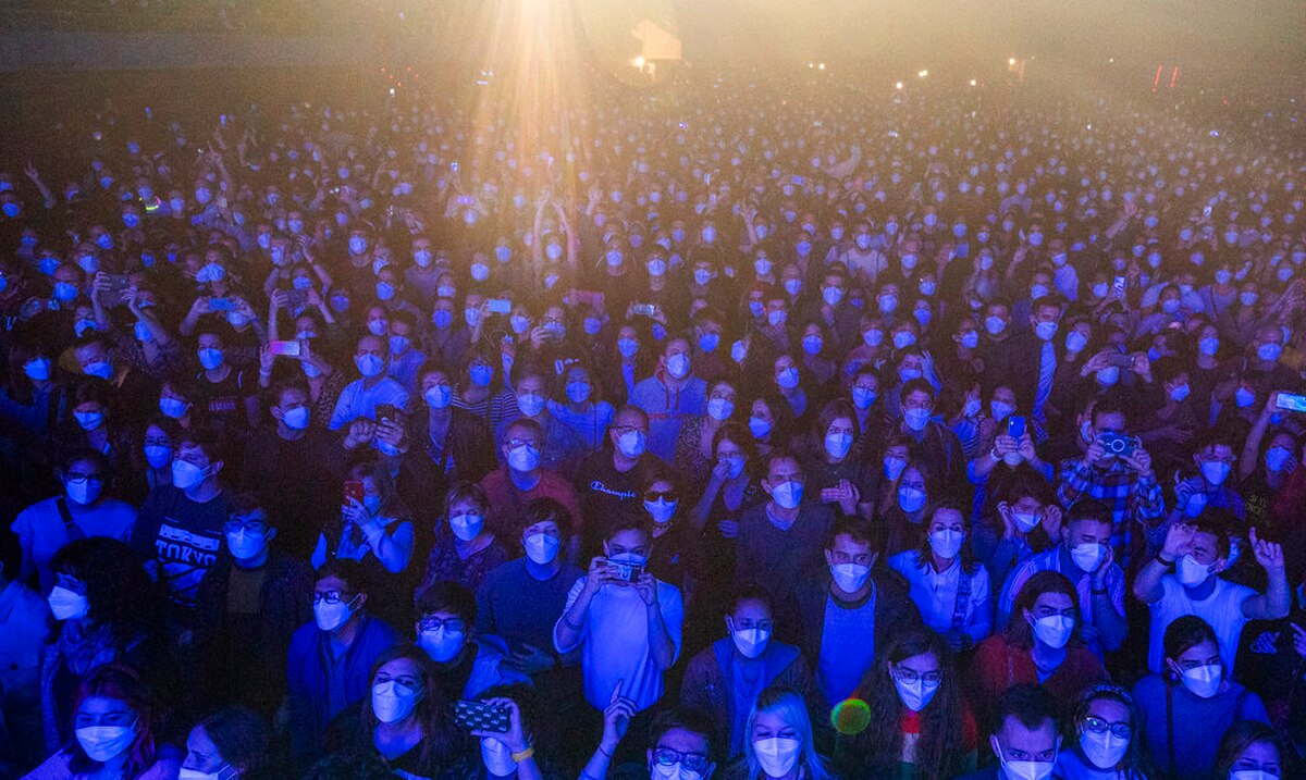 5,000 personas asistirán a un concierto sin distanciamiento en Barcelona