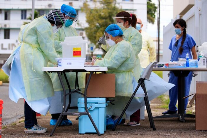 El Departamento de Salud informa 185 nuevos casos confirmados por COVID-19