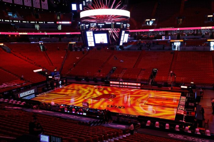 Puertas abiertas para los juegos del Heat de Miami a vacunados contra el COVID
