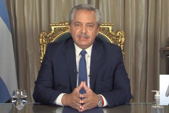 "Alberto Fernández: ""las fronteras continuarán cerradas para turistas extranjeros"""