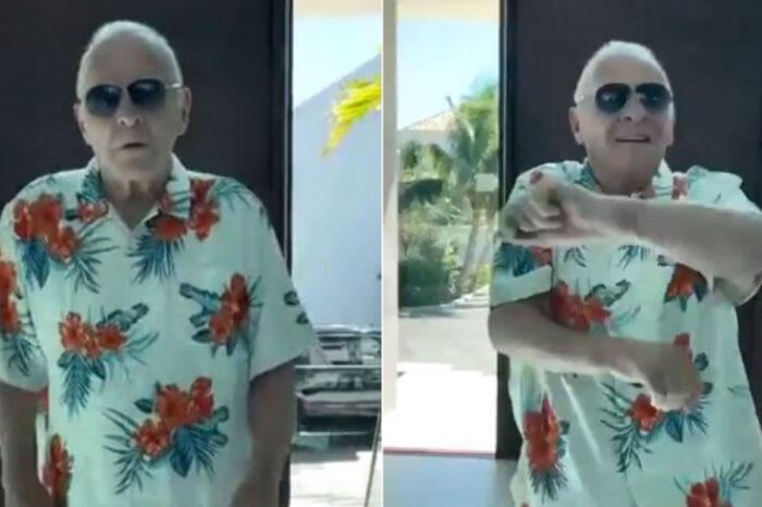 """[Video] """"Soy colombiano"""", dice actor Anthony Hopkins con 'guayabera' y bailando merengue"""