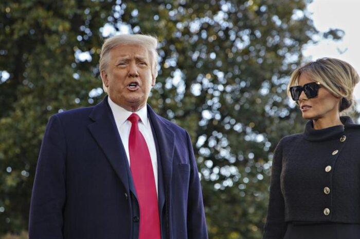 Donald Trump y Melania se vacunaron antes de abandonar la Casa Blanca