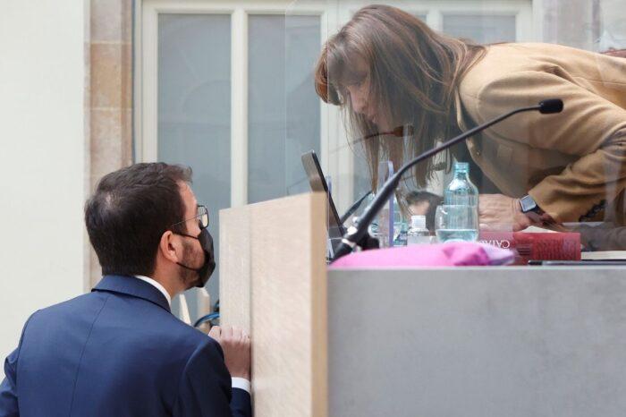JxCat castiga con una derrota a Aragonés en la votación para presidir la Generalitat