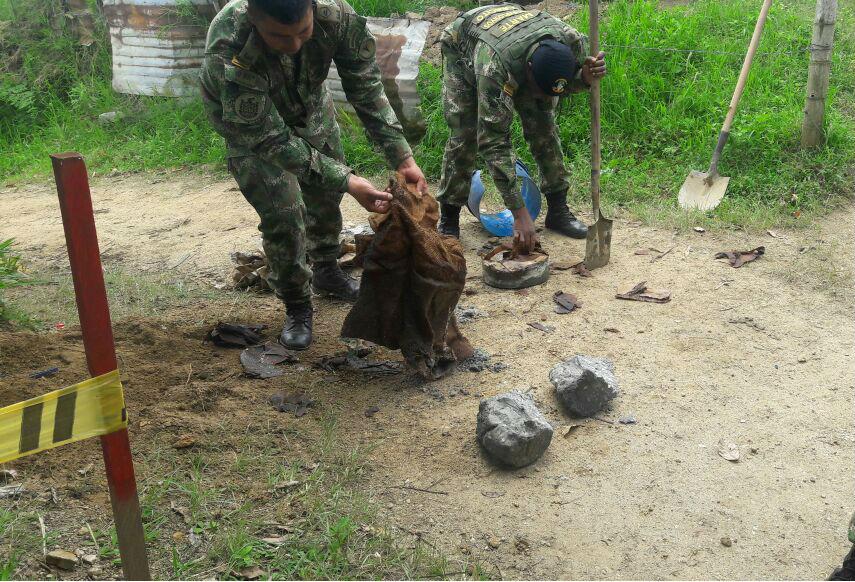 Desactivan minas antipersonal con que pretendían atacar al Ejército en Catatumbo