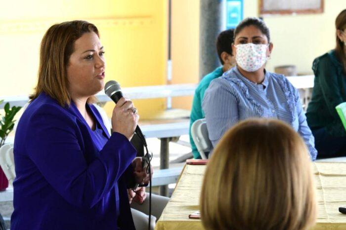 Elba Aponte informa que 76 de 115 escuelas han solicitado certificación al Departamento de Salud