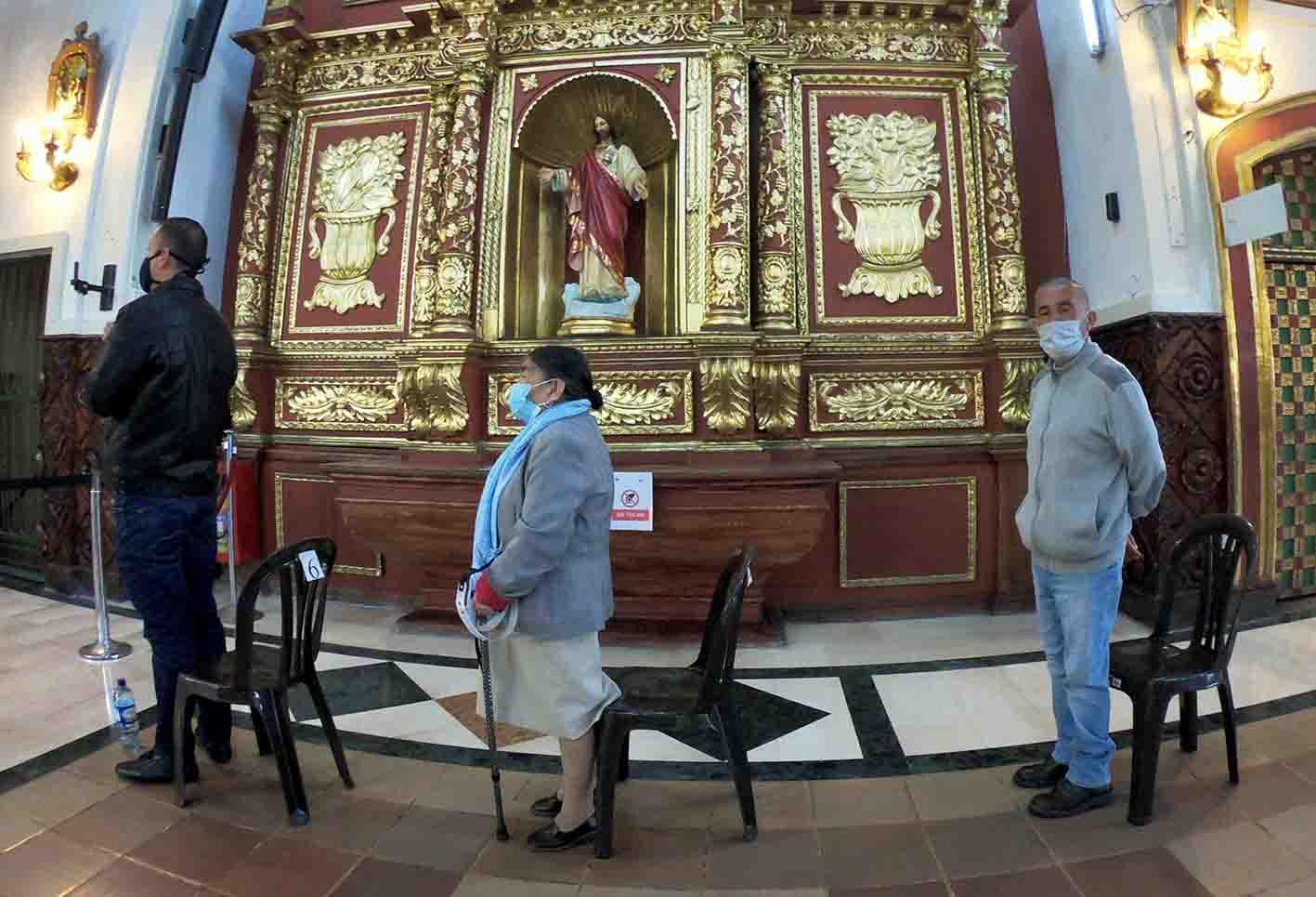 SOS por bioseguridad: Minsalud insiste en autocuidado en templos durante Semana Santa