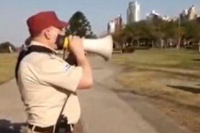 """Guardia Urbana quiso parar fiesta clandestina y lo """"volaron"""" a tiros"""