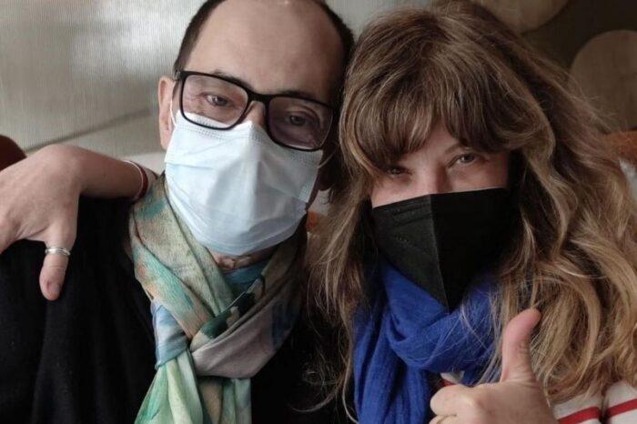 'La que se avecina': Jordi Sánchez se reencuentra con Nathalie Seseña tras superar el coronavirus