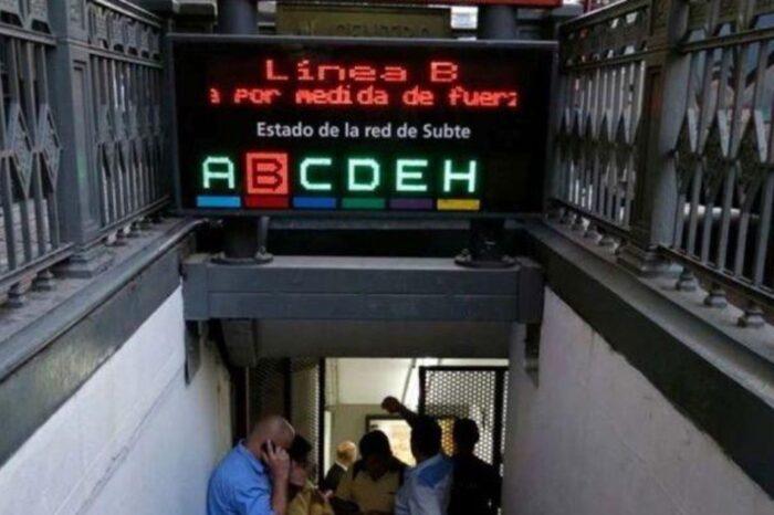 Anuncian que la línea B del subte no iniciará su servicio