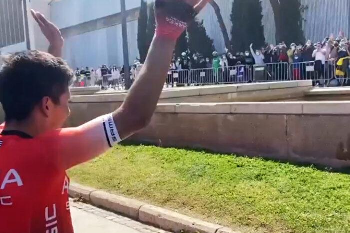 [Video] Nairo, con Barcelona a sus pies; enorme ovación en Vuelta a Cataluña