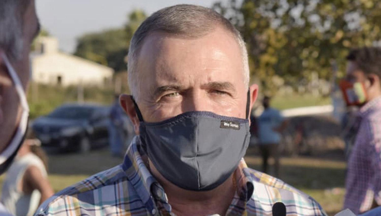 Coronavirus: el mensaje del vicegobernador tras recibir el alta del Centro de Salud