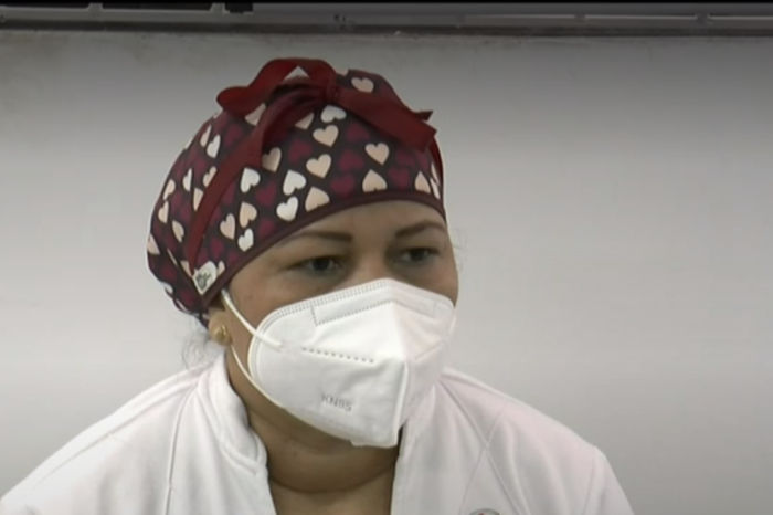 Verónica Machado, la primera vacunada contra el COVID-19 en Colombia, ya recibió la segunda dosis