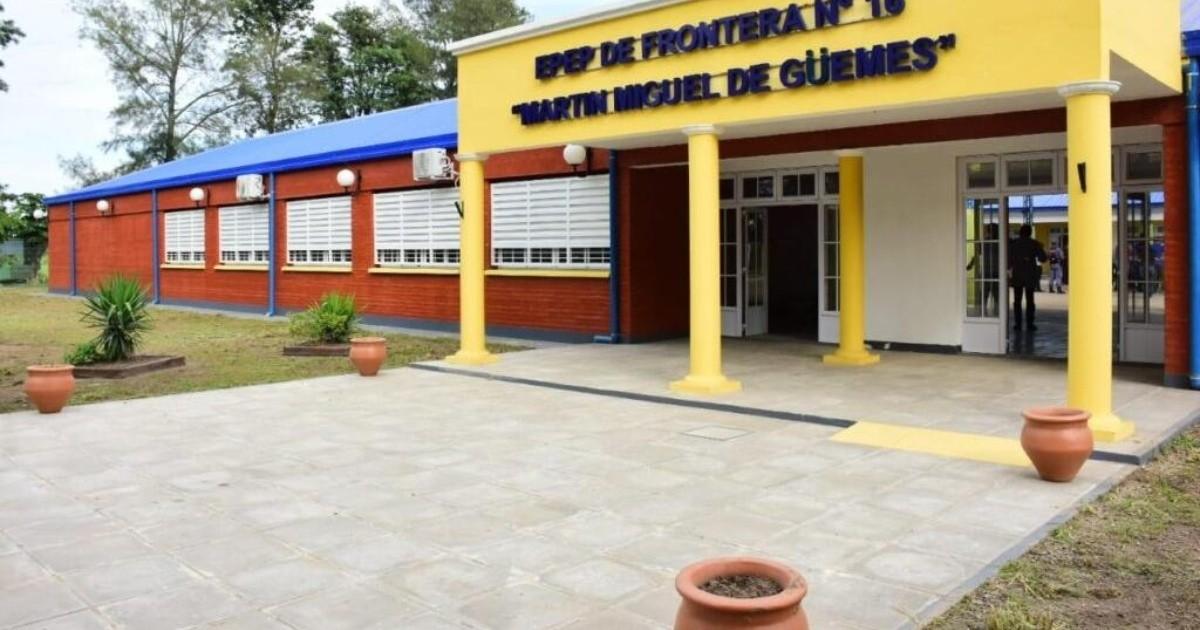 En Formosa las clases comienzan con nuevas inauguraciones de escuelas y vacunación a docentes