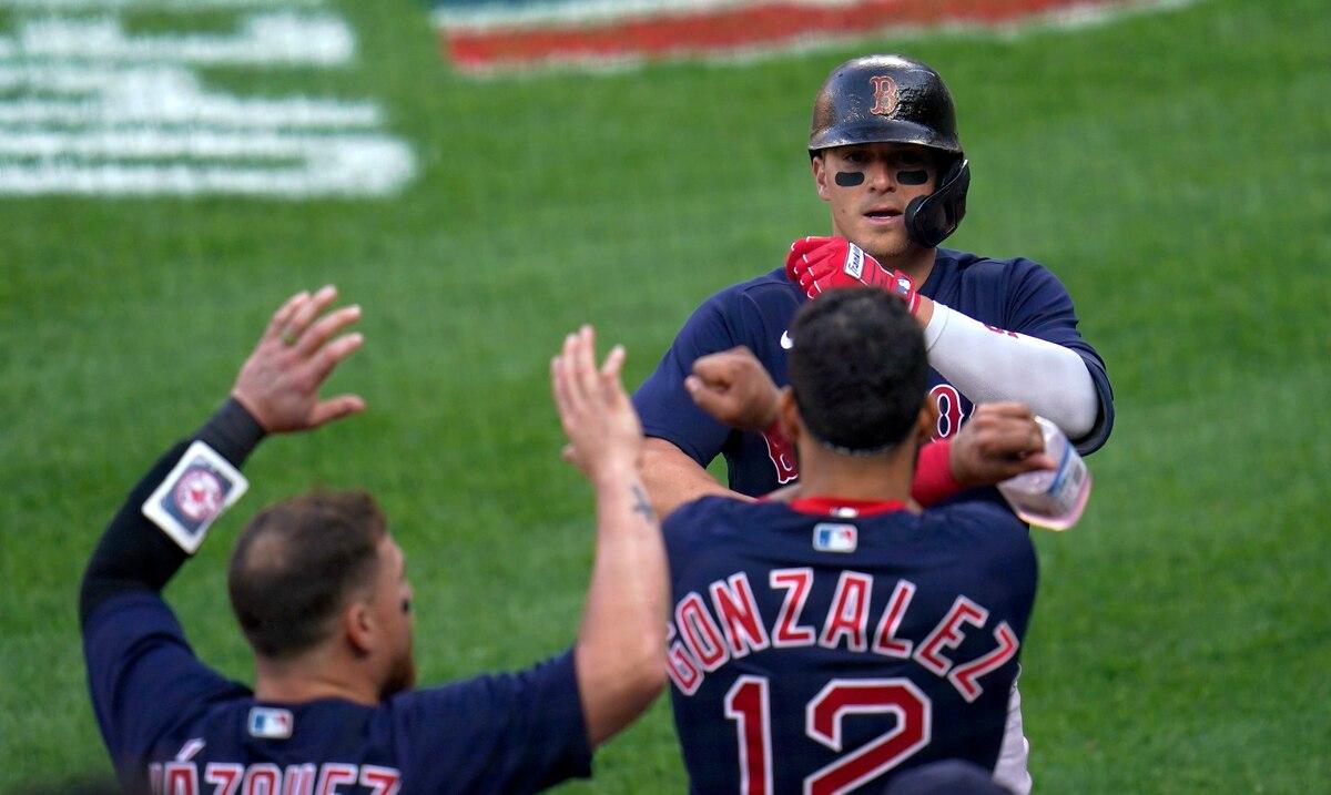 Kike Hernández sacude su primer jonrón de la temporada con los Red Sox