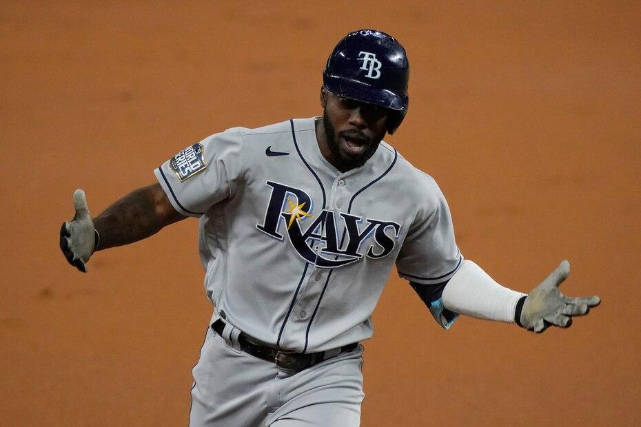 Fue el décimo cuadrangular de postemporada para el novato de los Rays, nueve marca en la historia de los playoffs de MLB.