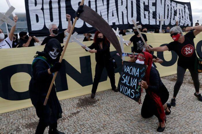 Brasil suma 3,769 muertes y 91,097 nuevos casos por COVID-19 en las últimas 24 horas