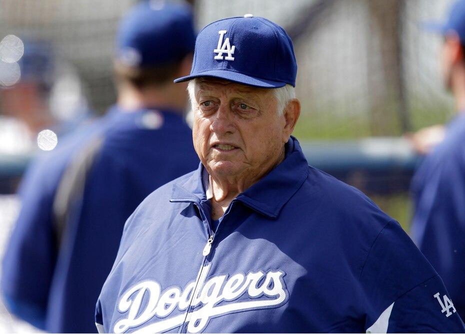 Lasorda pasó los últimos 14 años con los Dodgers como asesor especial del presidente.