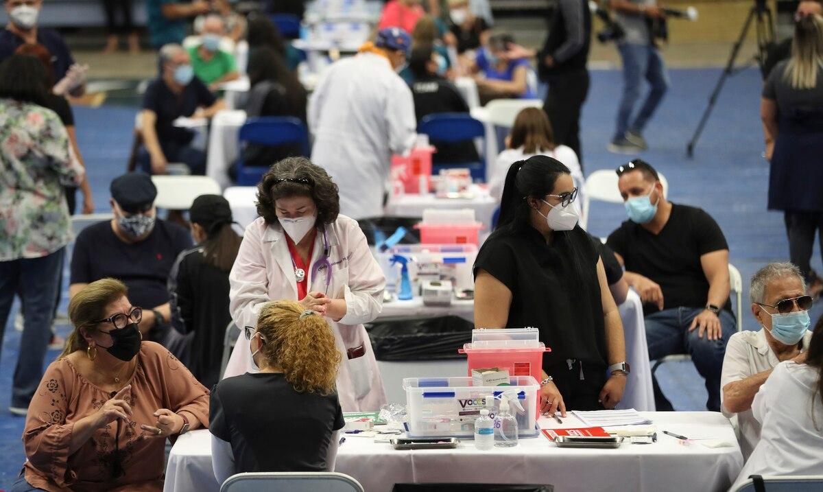 Salud y VOCES proyectan vacunar 10,000 personas hoy en evento masivo en el Centro de Convenciones