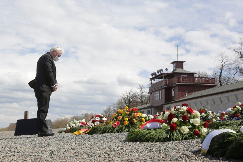 Marcan el 76 aniversario de la liberación del campo de concentración Buchenwald