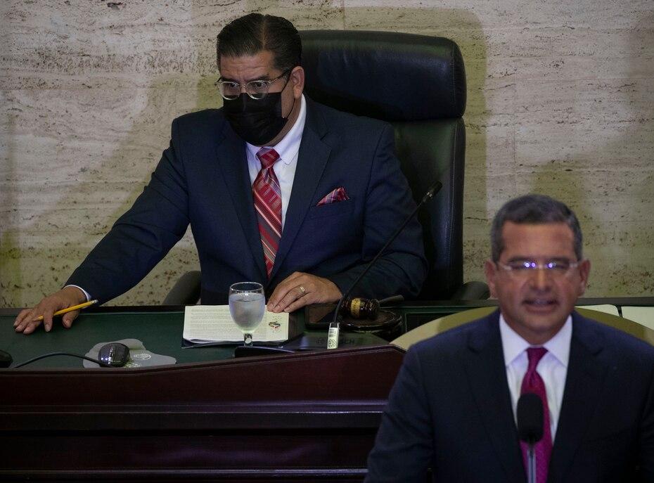 El presidente de la Cámara de Representantes, Rafael